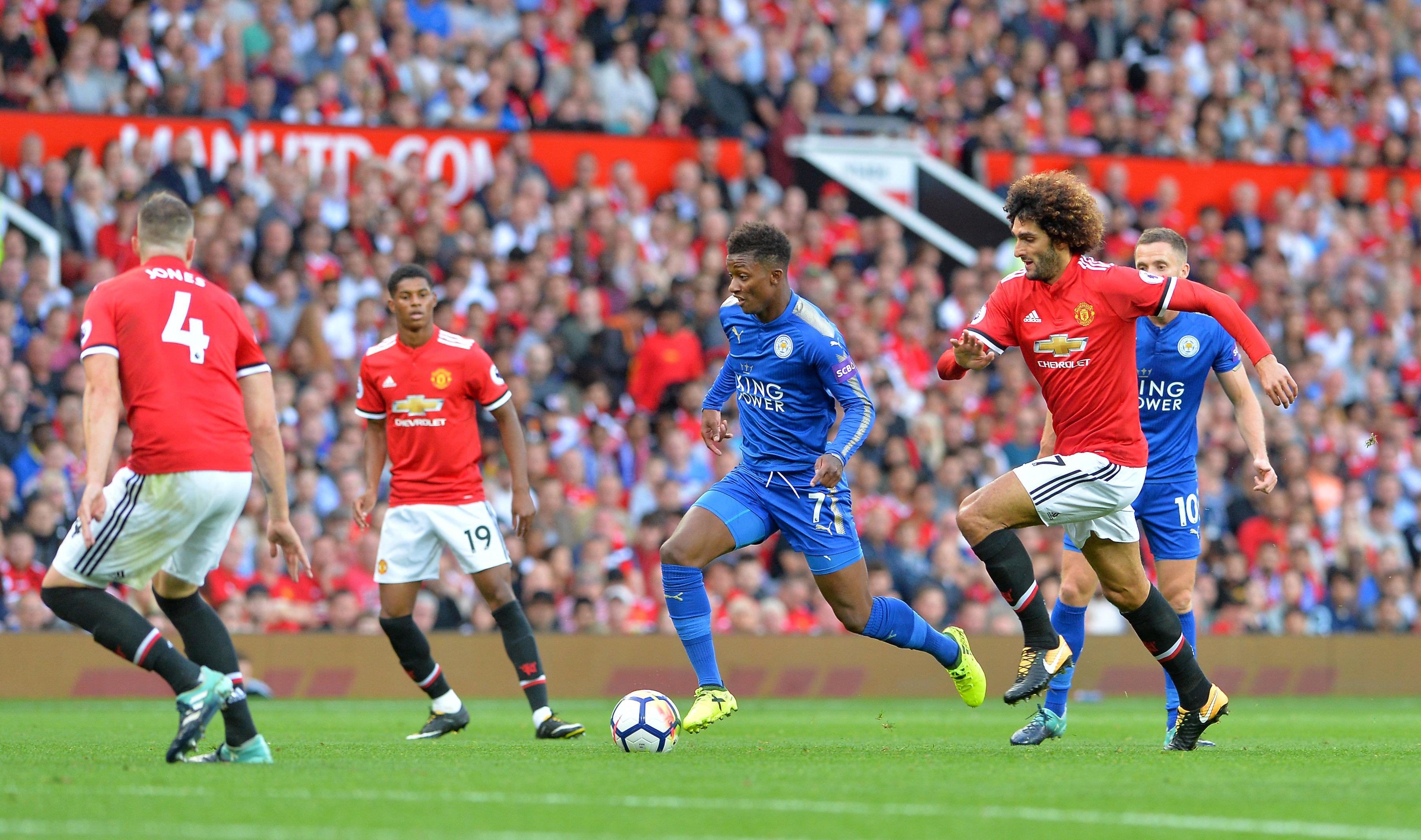 Broadcast Schedules: Leicester City vs. Manchester United