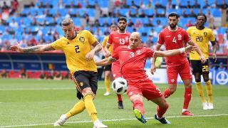 Yohan Benalouane - Belgium 5 Tunisia 2