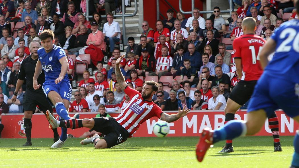 Southampton 1 Leicester City 2
