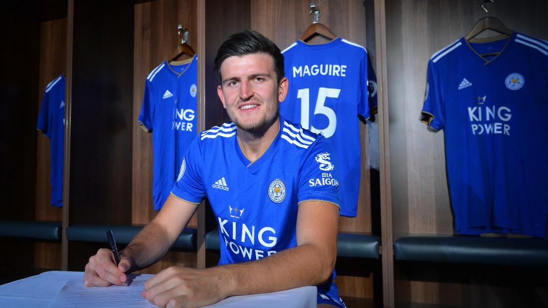 Harry Maguire Signs New Five-Year Contract With Leicester City
