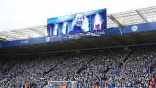 An emotional tribute video is played