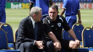Milan Mandarić and Martin Allen