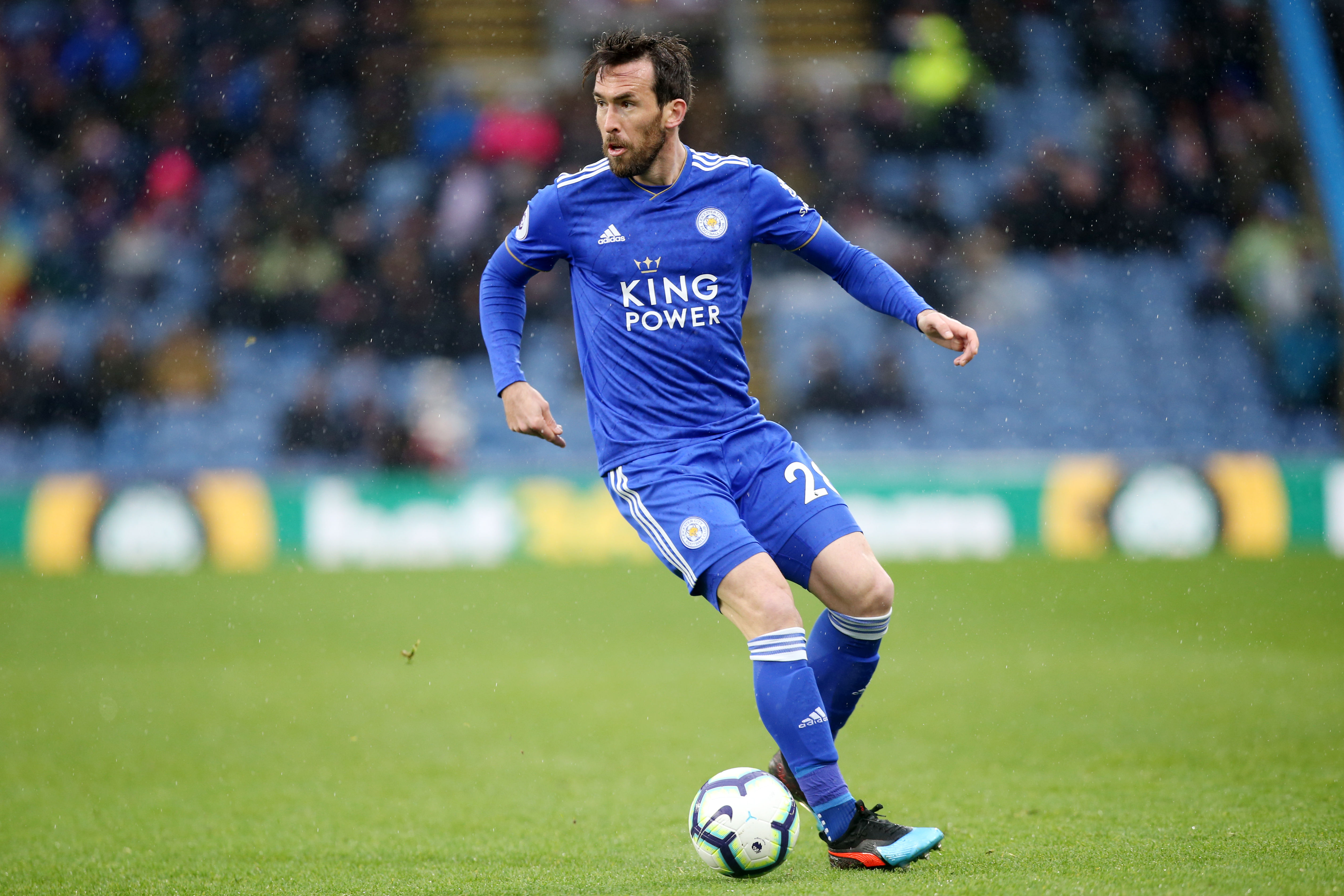 Christian Fuchs Pens Leicester City Contract Extension