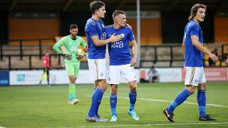Harry Maguire and Jamie Vardy