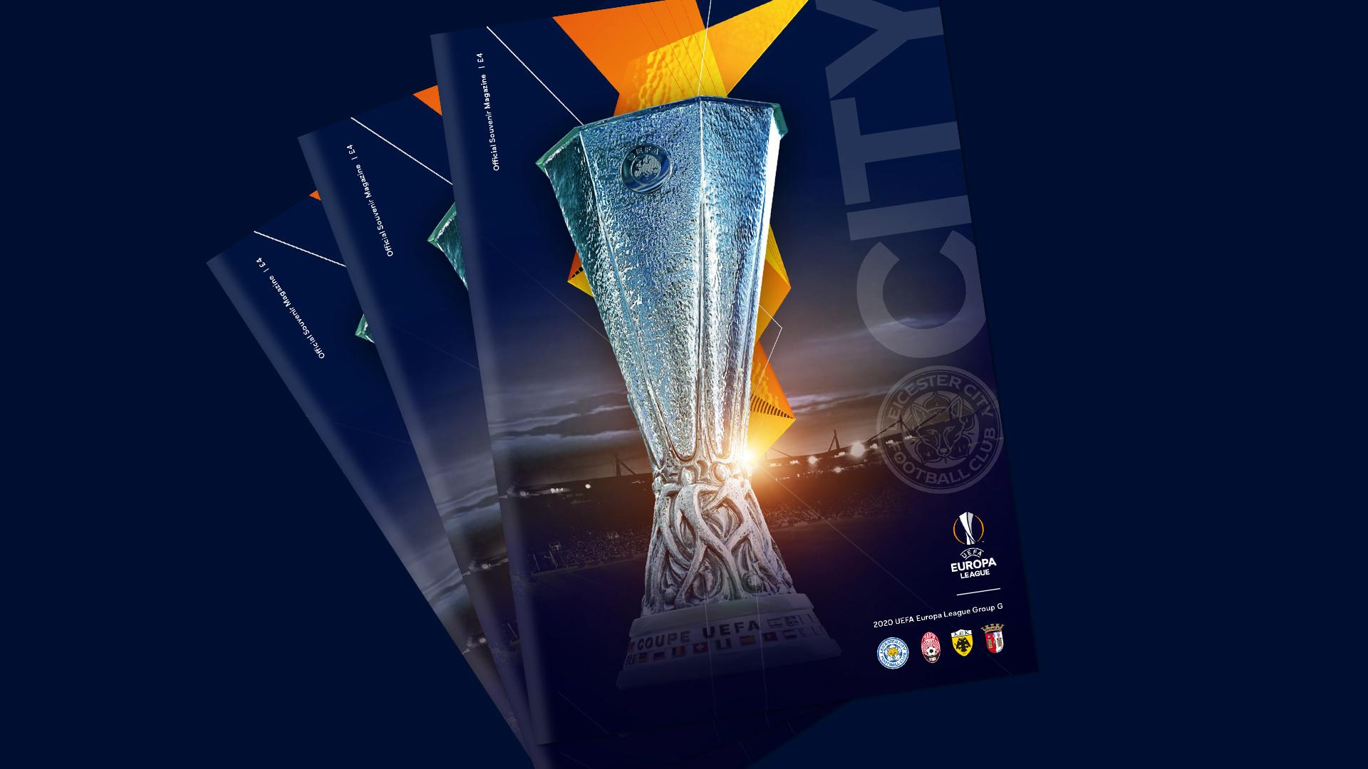 Limited Edition Uefa Europa League Programme Still Available