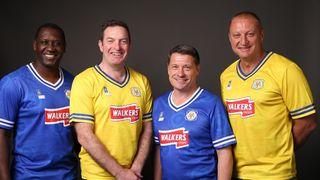 Emile Heskey, Gerry Taggart, Tony Cottee and Matt Elliott