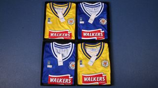 Leicester City's 1996-98 retro shirts