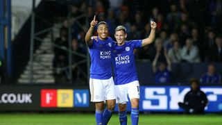 Youri Tielemans and Marc Albrighton