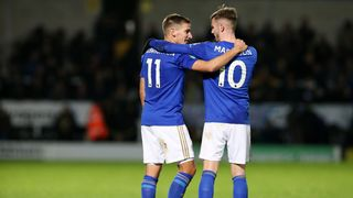 Marc Albrighton and James Maddison