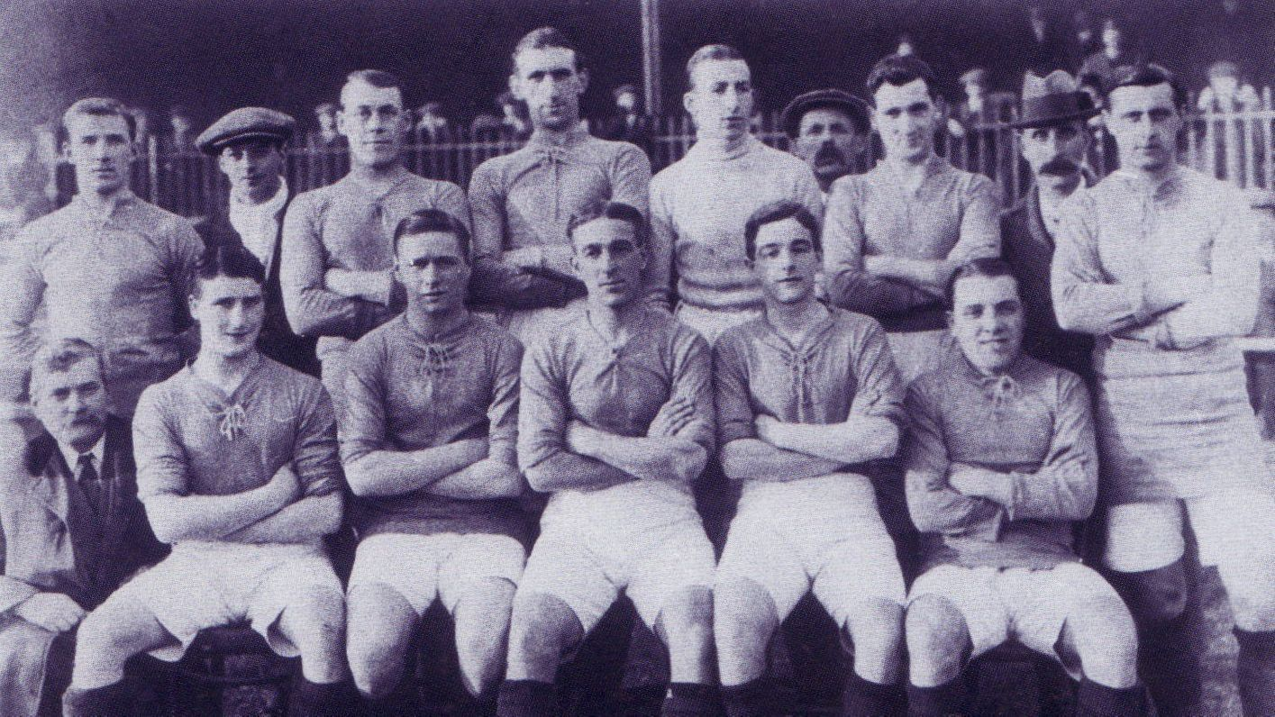 Leicester Fosse 1914/15 team photo