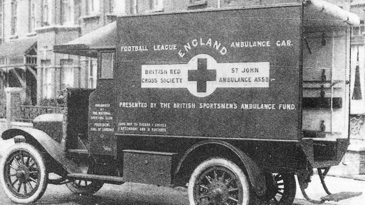 Football League WW1 Ambulance
