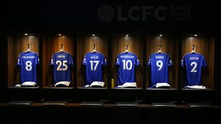 Leicester City Dressing Room
