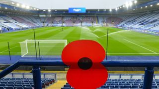 Remembrance Fixture at King Power Stadium