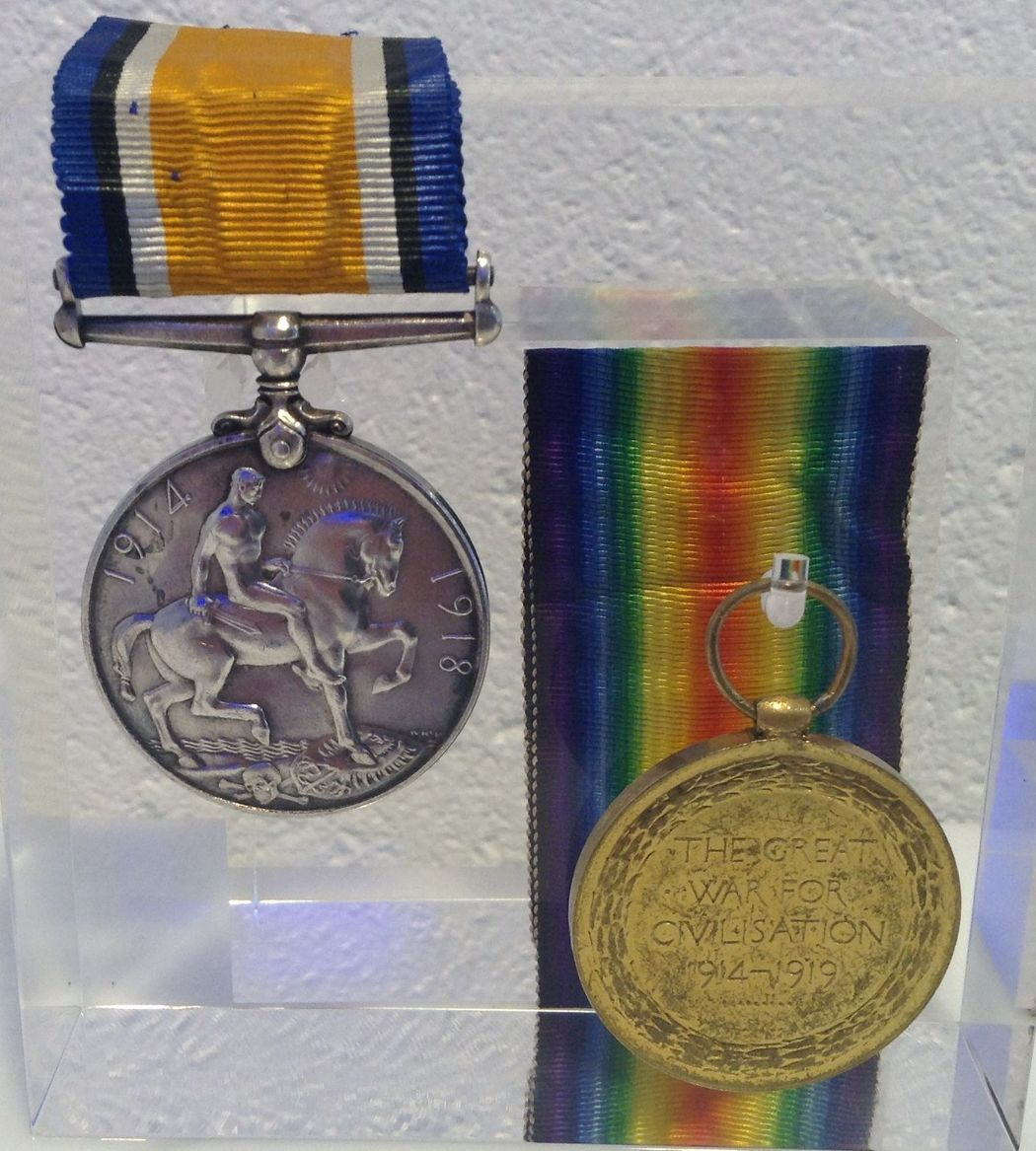 Robert Messer's medals