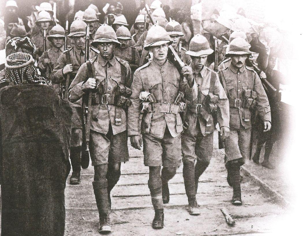 Reentering Kut in 1917