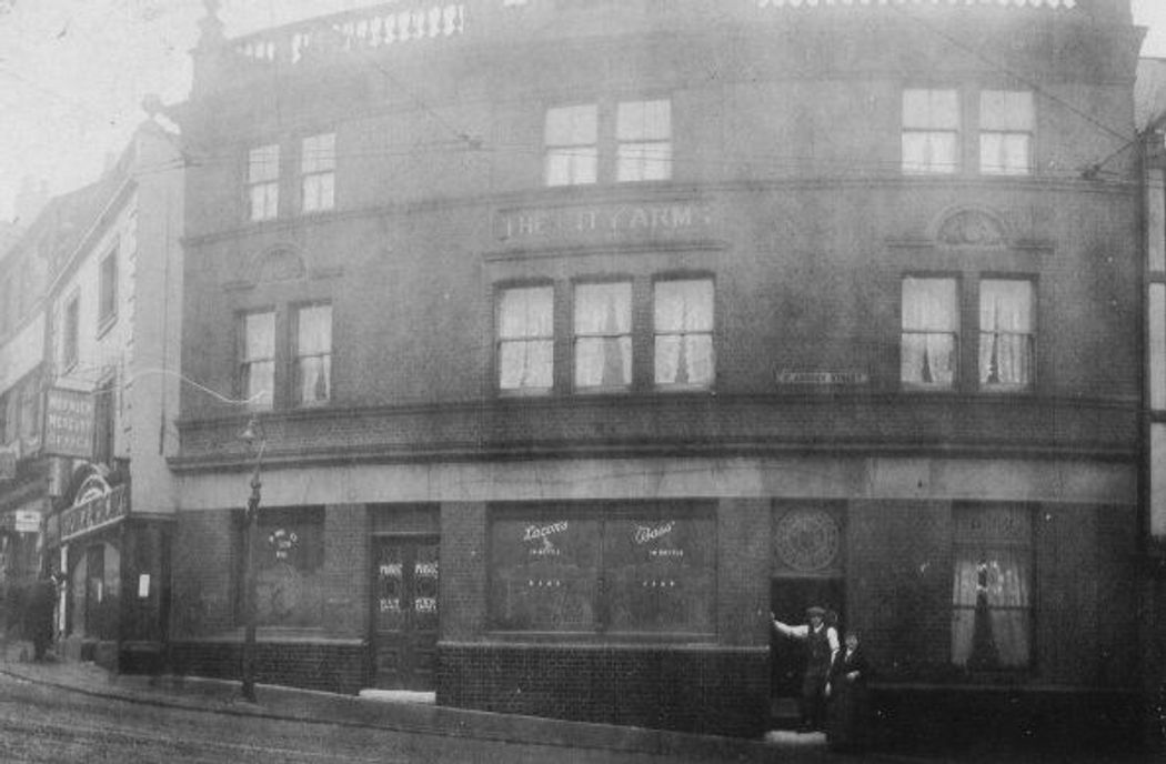 City Arms in 1919