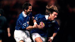 Darren Eadie and Robbie Savage