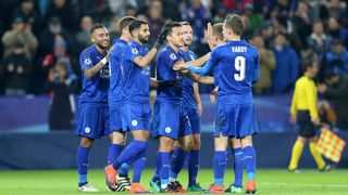 Leicester City in the UEFA Champions League
