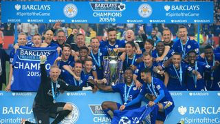 Premier League Trophy Lift