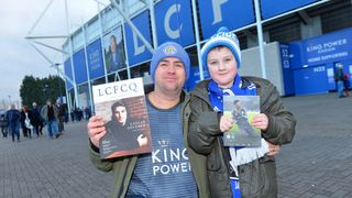 LCFCQ & City Matchday Magazine on sale