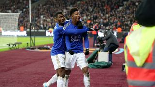 Kelechi Iheanacho and Demarai Gray