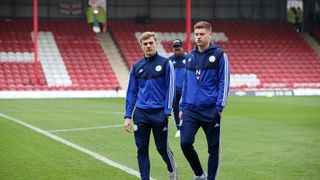 Kiernan Dewsbury-Hall and Harvey Barnes