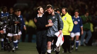 Tim Flowers and Martin O'Neill