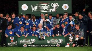 Leicester City win the League Cup