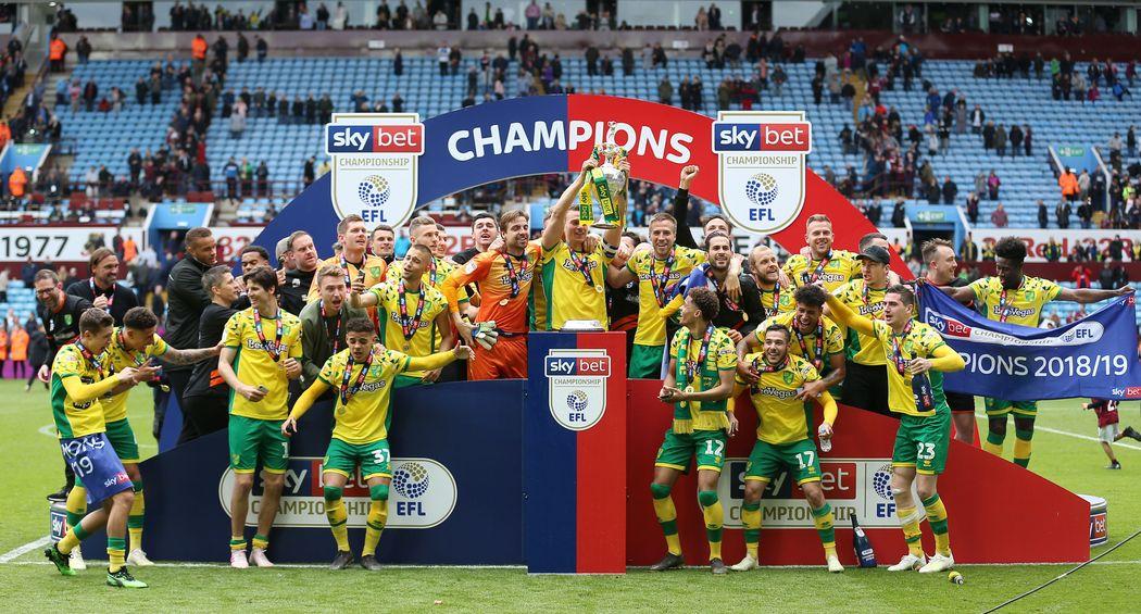 Norwich City Championship champions