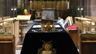 King Richard III lies at rest in Leicester Cathedral