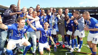 Leicester City win the Championship title