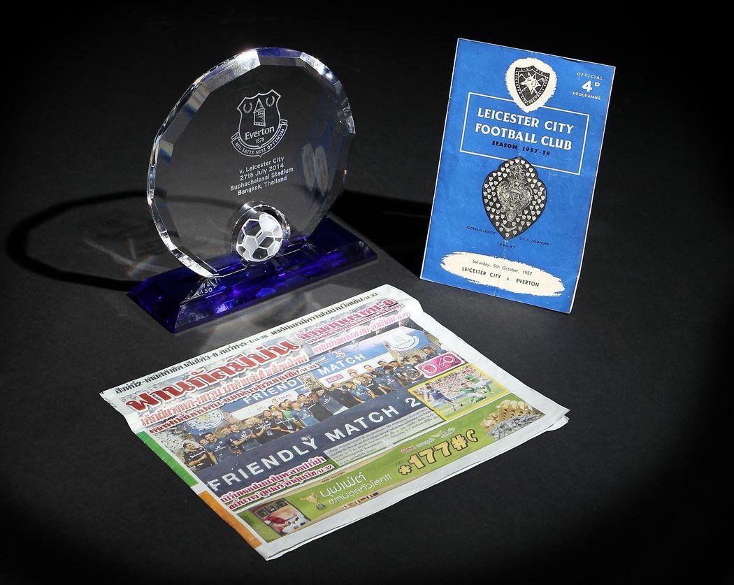 Everton memorabilia
