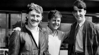 Ali Mauchlen, Gordon Milne & Gary McAllister