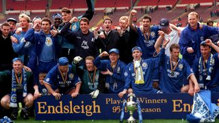 Leicester City win the 1996 Play-Offs