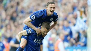 Andy King & Jamie Vardy