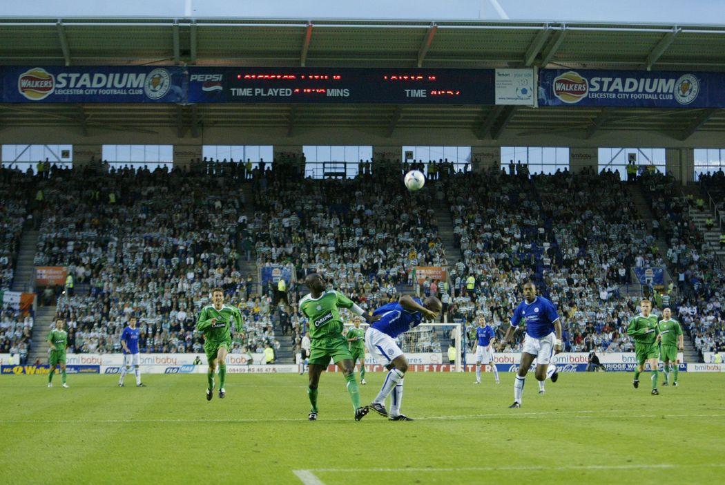 Celtic visit Leicester