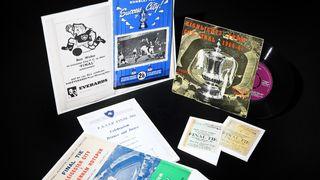 1961 FA Cup Final memorabilia