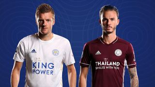 2020/21 Leicester City away shirts
