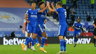 James Justin & Jamie Vardy