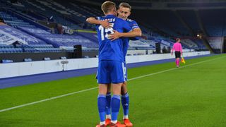 Harvey Barnes and Timothy Castagne