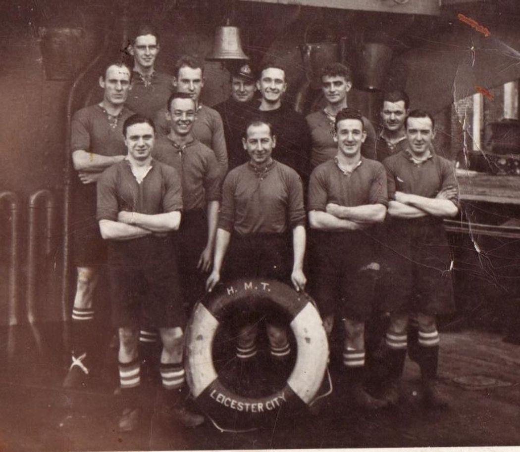 HMS Leicester City crew