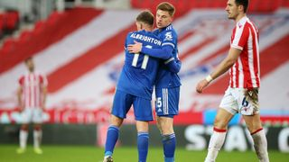 Marc Albrighton & Harvey Barnes