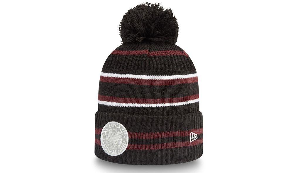 New Era Maroon Cuff Bobble Hat