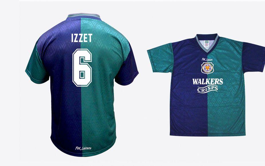 1995/96 jade-navy third shirt