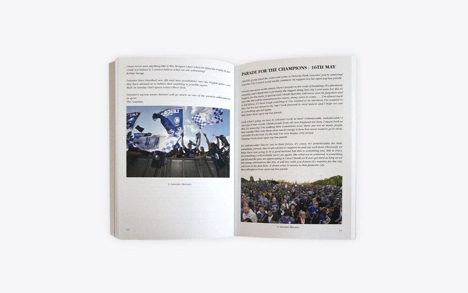 The Incredible & Romantic Leicester City book