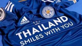Leicester City 2020/21 home shirt