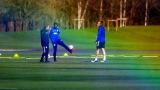 Brendan Rodgers, Christian Fuchs & Çağlar Söyüncü