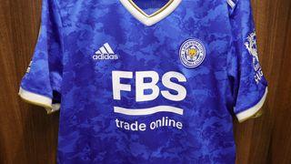 Leicester City 2021/22 adidas home shirt