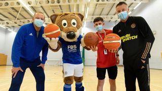 Leicester City food parcels session