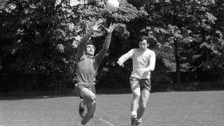 Peter Shilton & Gordon Banks